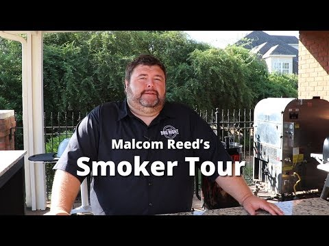 HowToBBQRight Smoker Tour with Malcom Reed