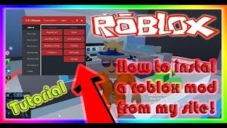 [Tutorial] How to instal a roblox exploit / mod menu [STC Mods]