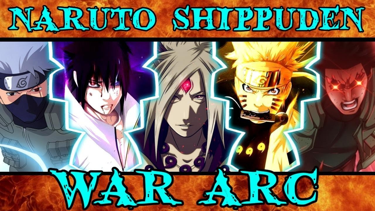 What the 4th War Nails & Fails - Naruto Shippuden War Arc ...