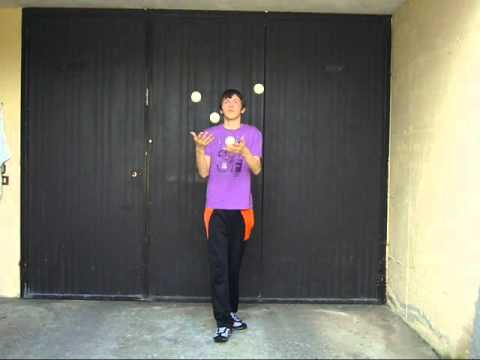 Juggling with 3-4-5-6-7 balls | J95