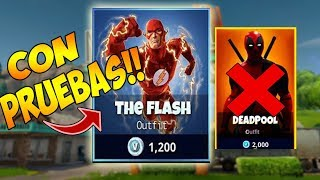 THE HEROES OF FORTNITE SERAN OF DC COMICS AND NOT MARVEL! Fortnite 4 Skins Battle Pass (THEORY)
