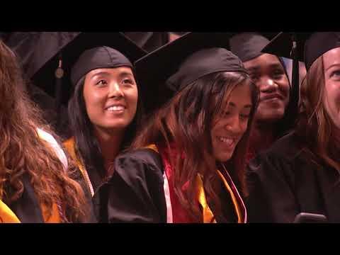 UMBC Undergraduate Commencement Spring 2018 (CAHSS, School of Social Work, Erickson School)