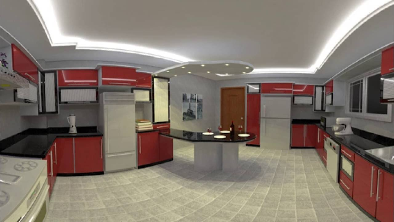 360 Degree Kitchen Design