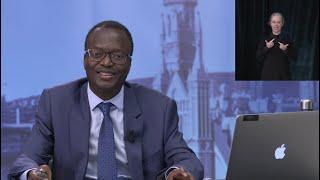 Webinaire du vice-recteur à la Recherche, à la création et à la diffusion, M. Christian Agbobli