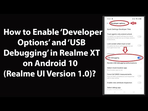How To Enable 'Developer Options' And 'USB Debugging' In Realme XT On Android 10 (Realme UI V 1.0)?