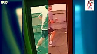 Elite Man Caught Pushing Woman In Front Of Bus