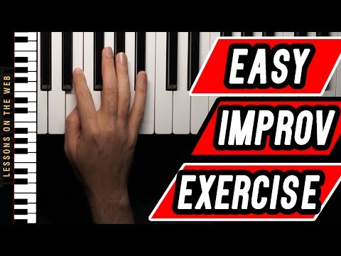 The Easiest Piano Improvisation Exercise for Beginners