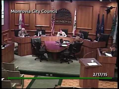 Monrovia City Council | February 17, 2015 | Regular Meeting