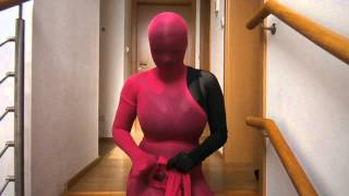 Repeat youtube video Dress pink pantyhose encasement