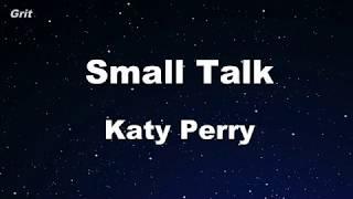 Gambar cover Small Talk - Katy Perry Karaoke 【No Guide Melody】 Instrumental