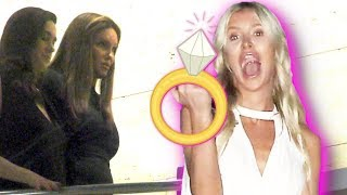 Caitlyn Jenner Ring Shopping For Girlfriend Sophia Hutchins?