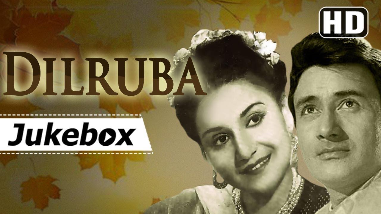 Dilruba (1950) Songs - Dev Anand & Rehana - Superhit Old Hindi Songs (HD)