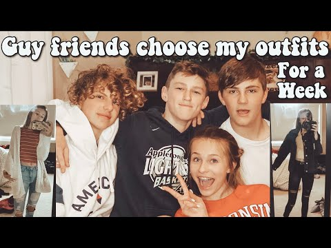 Guy Friends Choose My Outfits For A School Week