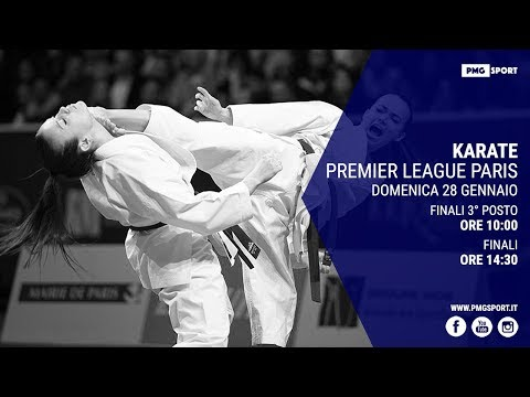 KARATE Premier League Paris! Finals Bronze Medal