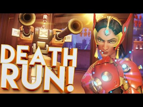 OVERWATCH DEATH RUN & TEAM HIDE AND SEEK CUSTOM GAMEMODE!! (LUNAR NEW YEAR)