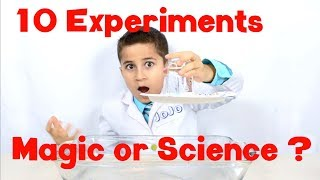 10 Impressive Science Experiments that look like Magic  JoJo's Science Show