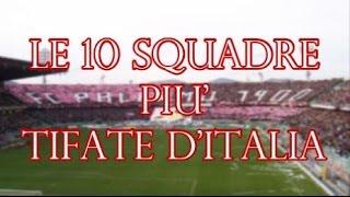Le 10 squadre di calcio più tifate d'Italia