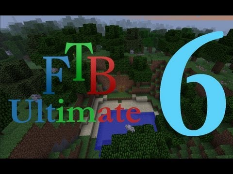 Ftb Ultimate 6 Power Furnace And Induction Smelter Youtube