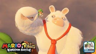 Mario + Rabbids Kingdom Battle - Bowser Jr. Leaves A Present (Nintendo Switch Gameplay)