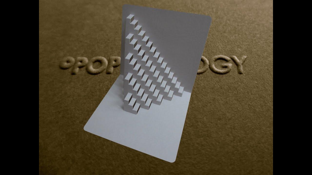 card house template