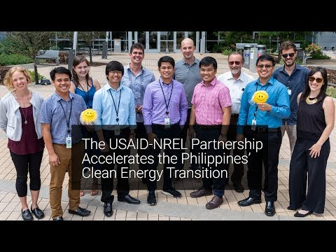 The USAID-NREL Partnership Accelerates the Philippines' Clea
