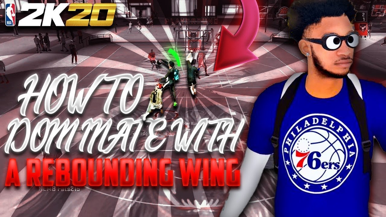 How To Dominate With A Rebounding Wing In NBA 2K20!