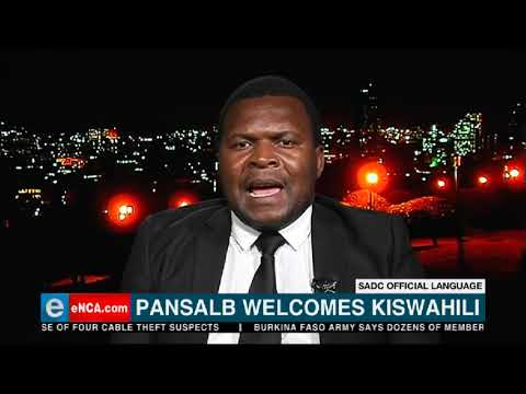The Southern Africa Development Community adopts Kiswahili