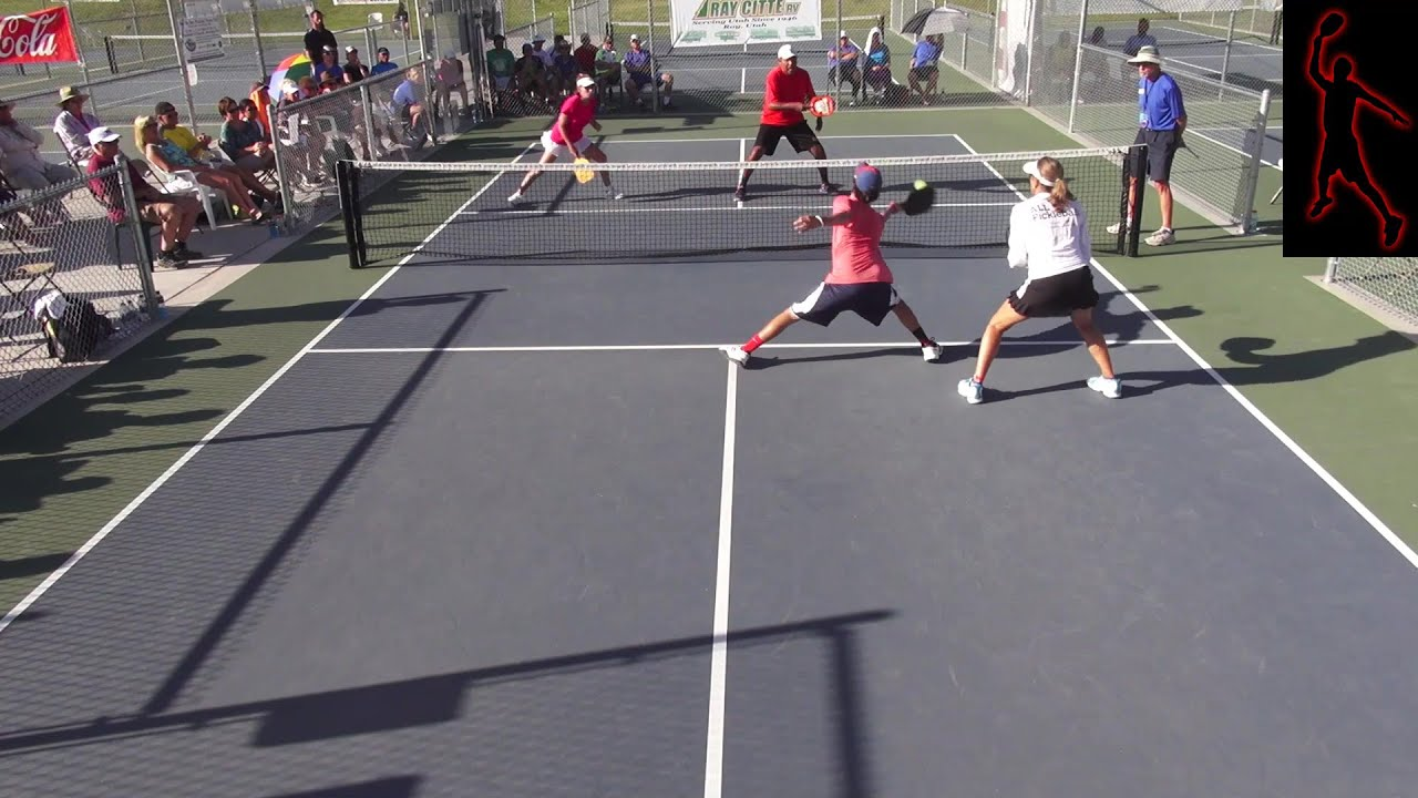 2014 Pickleball Tournament of Champions Mixed Open Doubles ...
