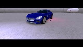 I got a brand new benz amg on roblox vehicle simulator!