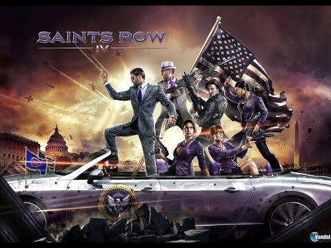 Lets play Saints Row IV part 6: ALIENS VIOLATED ME :c