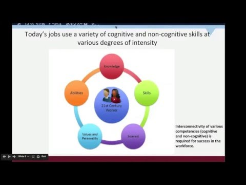 What Counselors Should Know about 21st Century Competencies Webinar