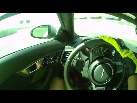 Rodolphe Koentges at Abu Dhabi Yas Marina drive Jaguar 2017