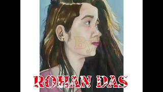 How to paint skin | learn to draw portrait with Rohan das using water colours | simple steps