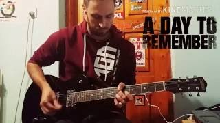 A Day To Remember - Same About You (Guitar Cover)