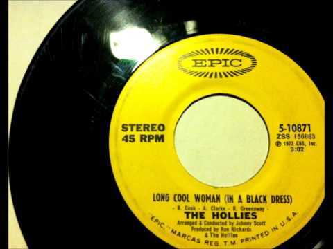 Long Cool Woman , The Hollies , 1972 Vinyl 45 RPM