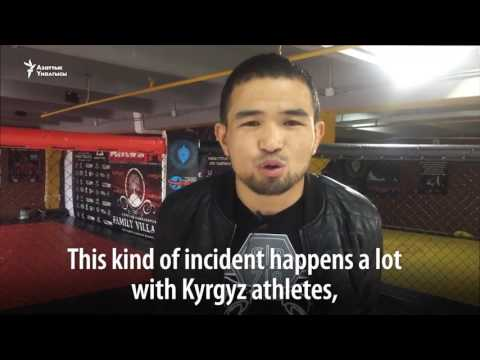 Kyrgyz Fighter Challenges Russian Judges In The Ring