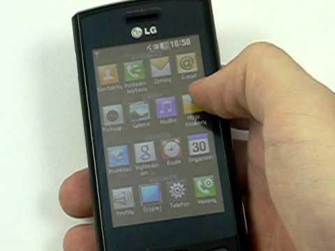 LG GM360 Viewty Snap - prostředí
