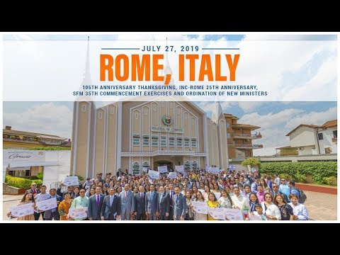 Pastoral Visitation and Ordination in Rome, Italy | Executive News