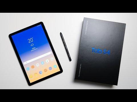 Samsung Galaxy Tab S4 Unboxing & Erster Eindruck   Deutsch