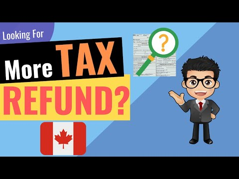 How To GET MORE TAX REFUND In Canada | Reduce Tax Bill | How Taxes Work In Canada  | 內含中文字幕