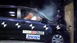 Crash Test 2012- Toyota Corolla Axio / Fielder (Full Frontal) JNCAP
