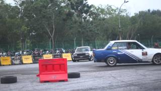 Urban Clothing Festival KL | Double Drift Session | Taxi Ride