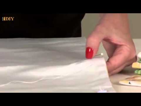40 DIY - How to make a Faux Roman Shade.mp4