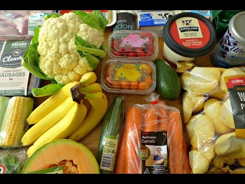 Grocery Haul - Coles Supermarket Australia & Food To Get Rid Of A Cold!
