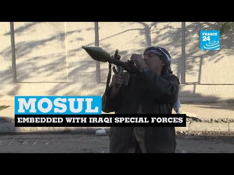 Iraq: alongside Iraqi special forces fighting Islamic State Group militants in Mosul