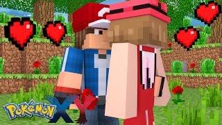 Minecraft: Pokemon X Y - O GRANDE BEIJO DE ASH E SERENA! #10