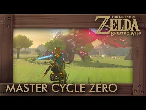 Master Cycle Zero in Ganon Battle - Zelda Breath of the Wild