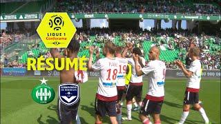 AS Saint-Etienne - Girondins de Bordeaux ( 1-3 ) - Résumé - (ASSE - GdB) / 2017-18