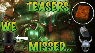 BLACK OPS 4 TEASERS YOU MISSED IN BLACK OPS 3!! REVELATIONS HATS, BLOOD VIALS & MAP HINTS?!