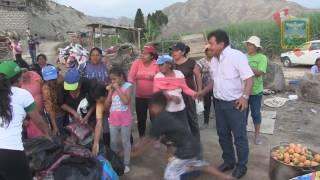 APOYO A VICTIMAS POR HUAICOS EN CHAMBARA Y MANCO CAPAC